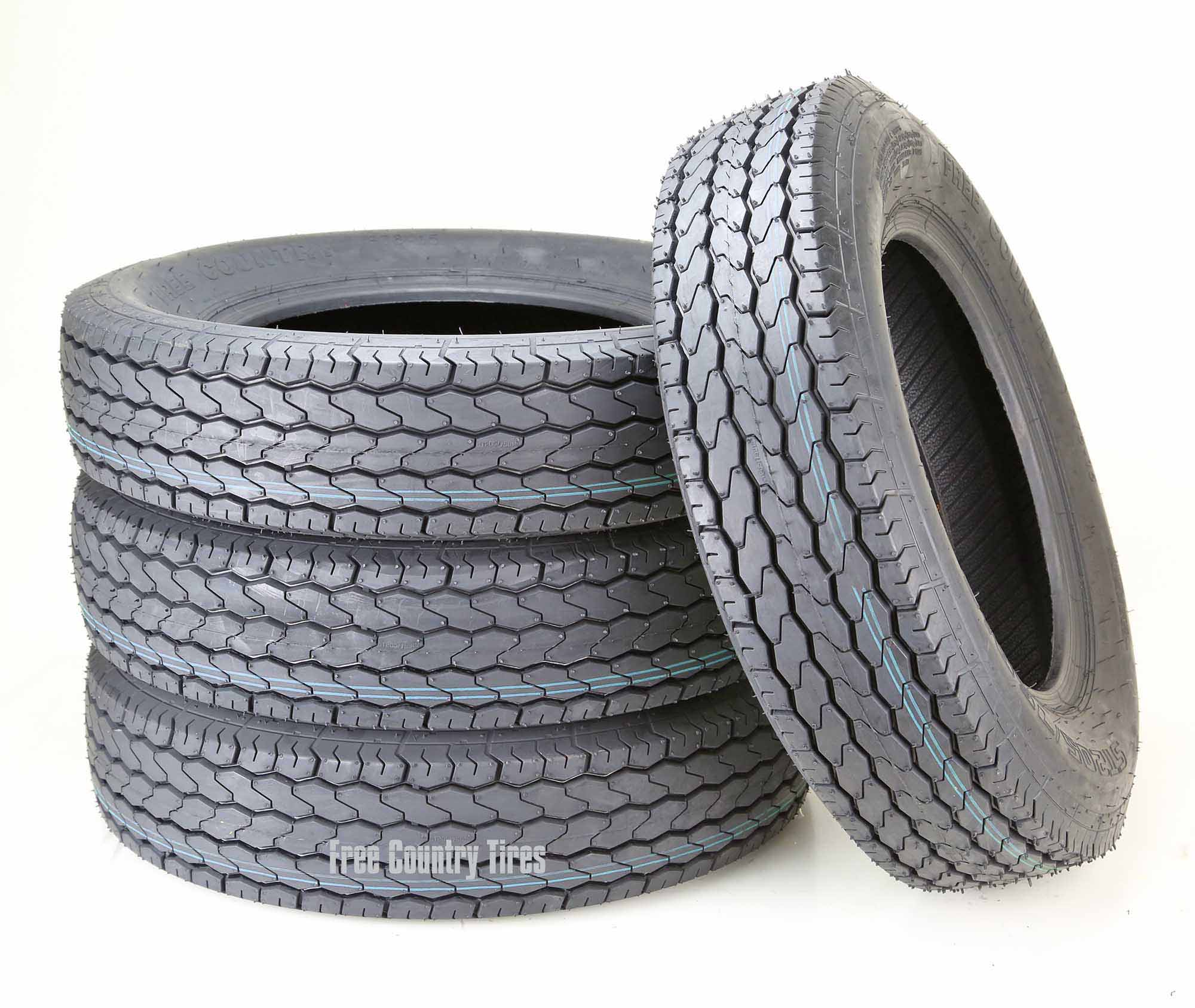 New Tires For My Car, 4 Free Country Trailer Tire St 75  Bias 6pr Lrc, New Tires For My Car