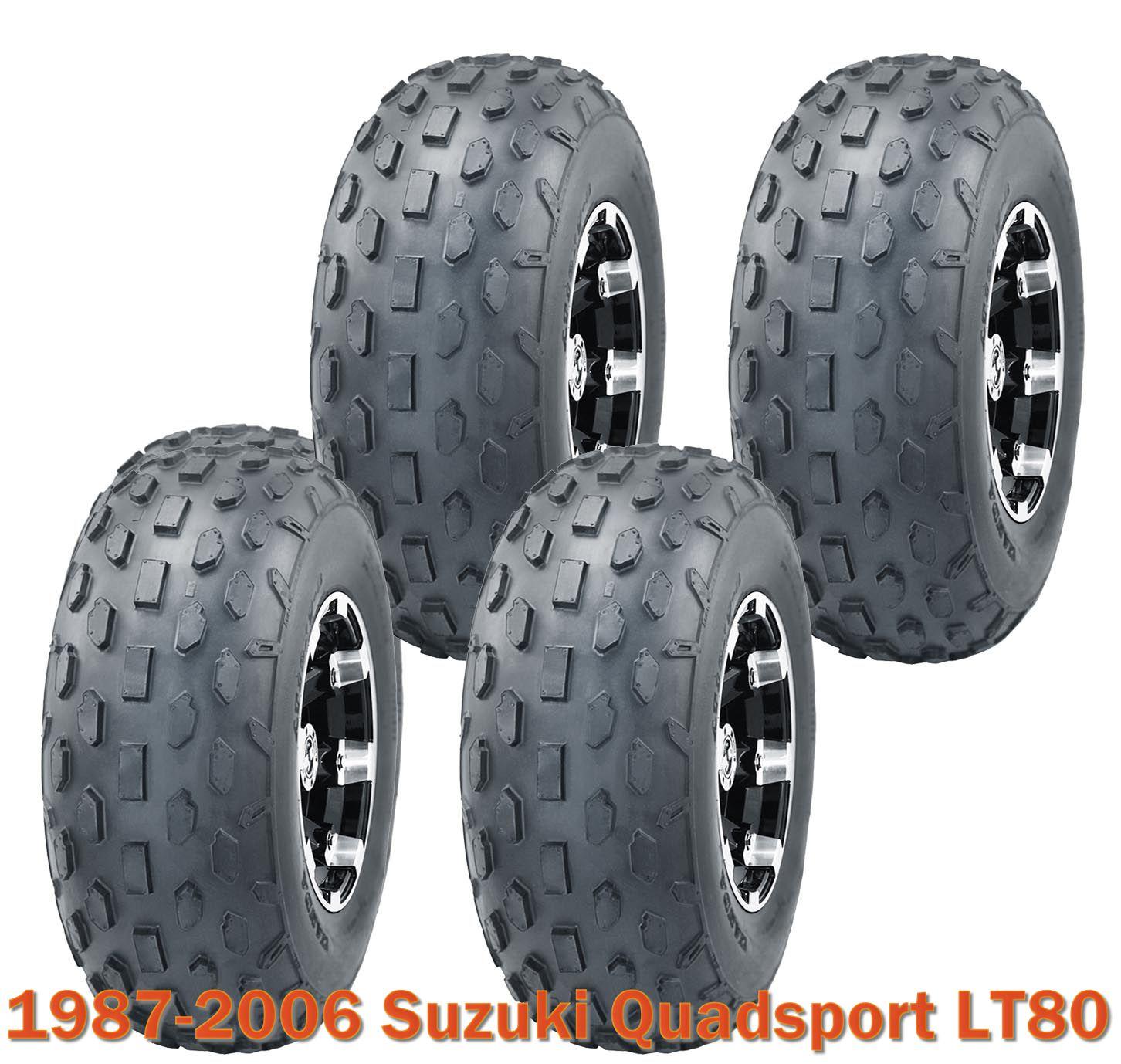 Suzuki Quadsport LT80 1987-2006 Full Set Wanda Sport ATV tires 19x7-8 19x7x8