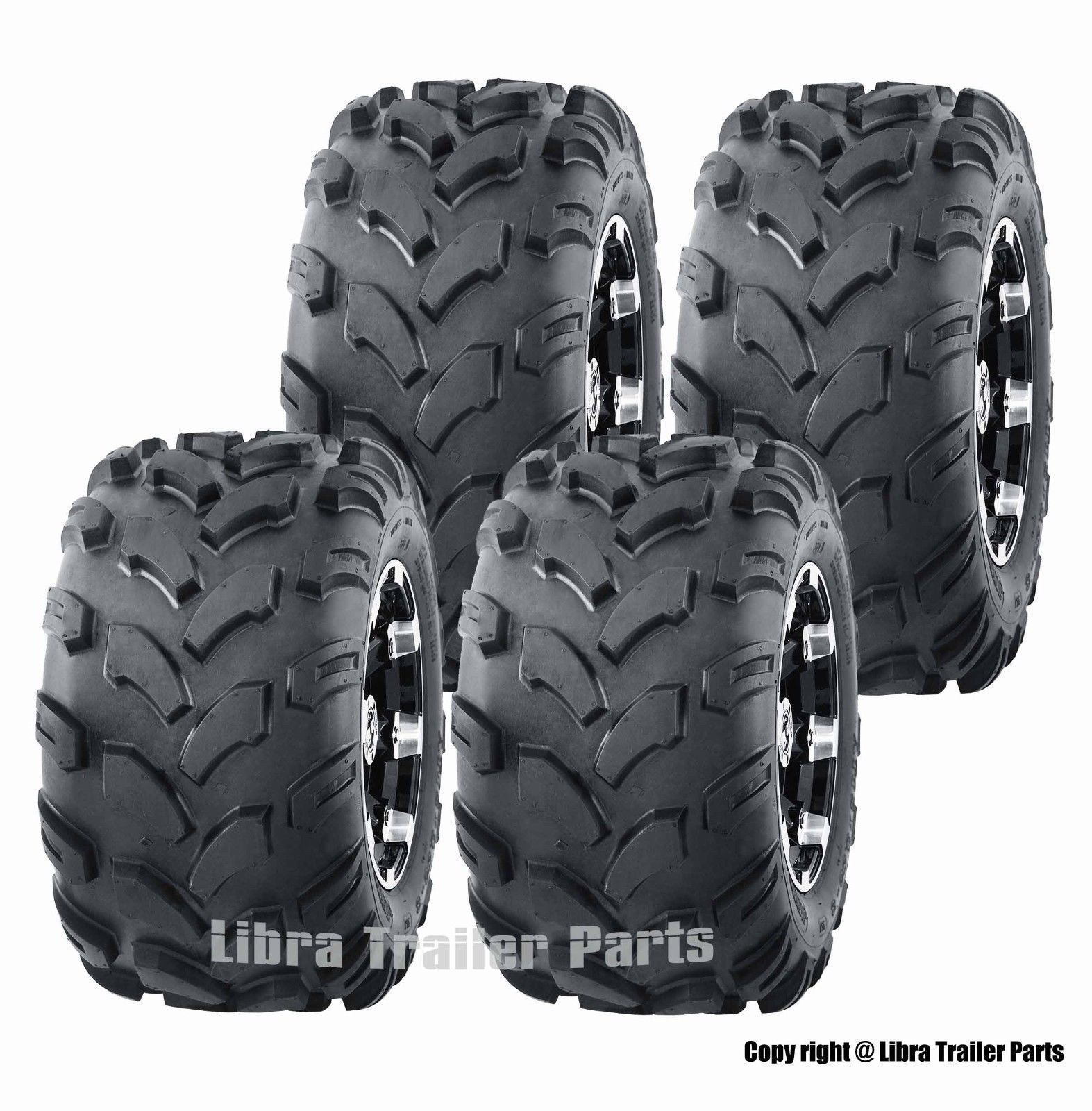 2016-2017 Polaris Outlaw 110 Full Set tires 19x7-8 19x7x8 /& 18x9.5-8 18x9.5x8