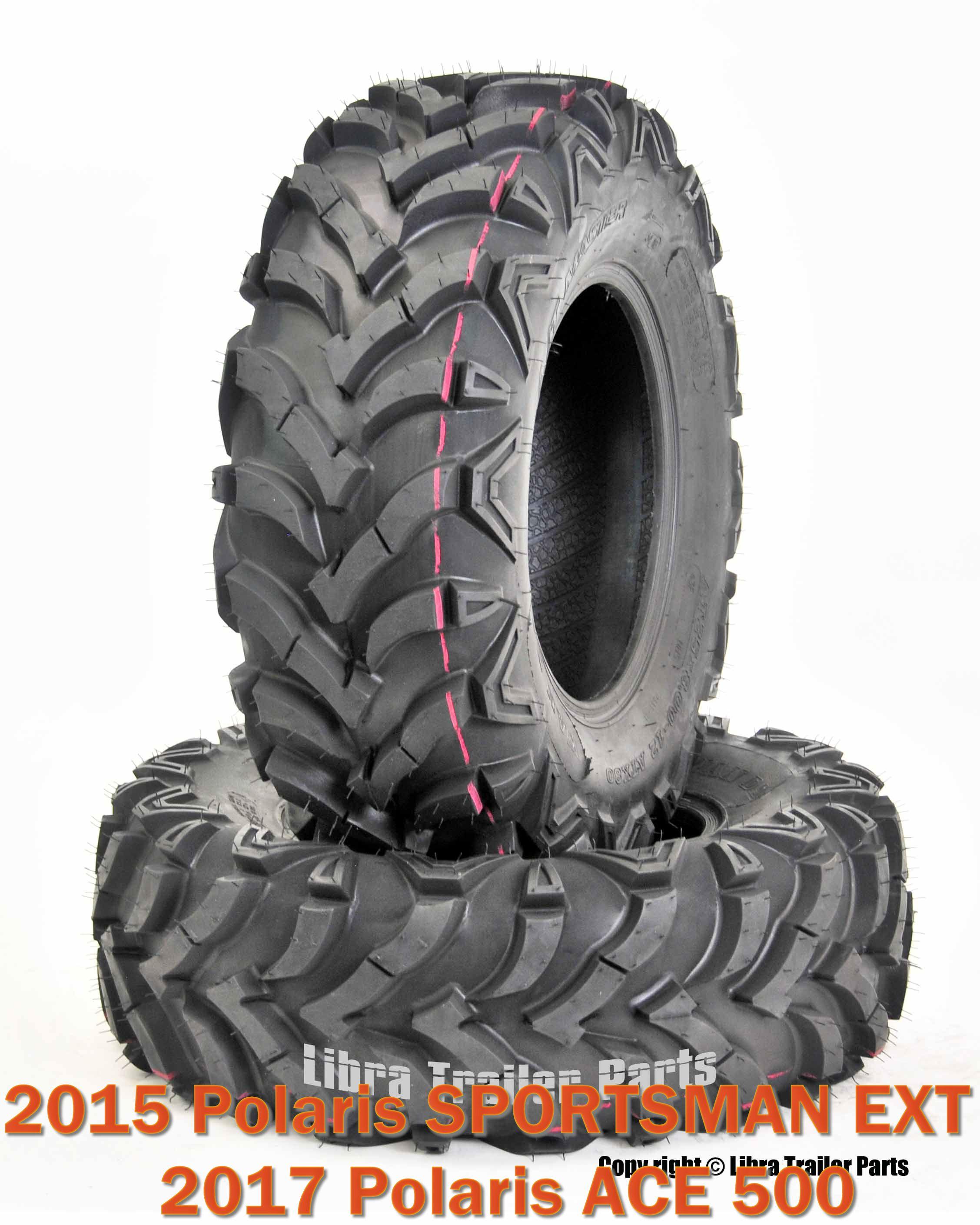 Set of 4 WANDA ATV//UTV Tires 25X8-12 25X10-12 for 2014 /& Up POLARIS SPORTSMAN 570//ACE