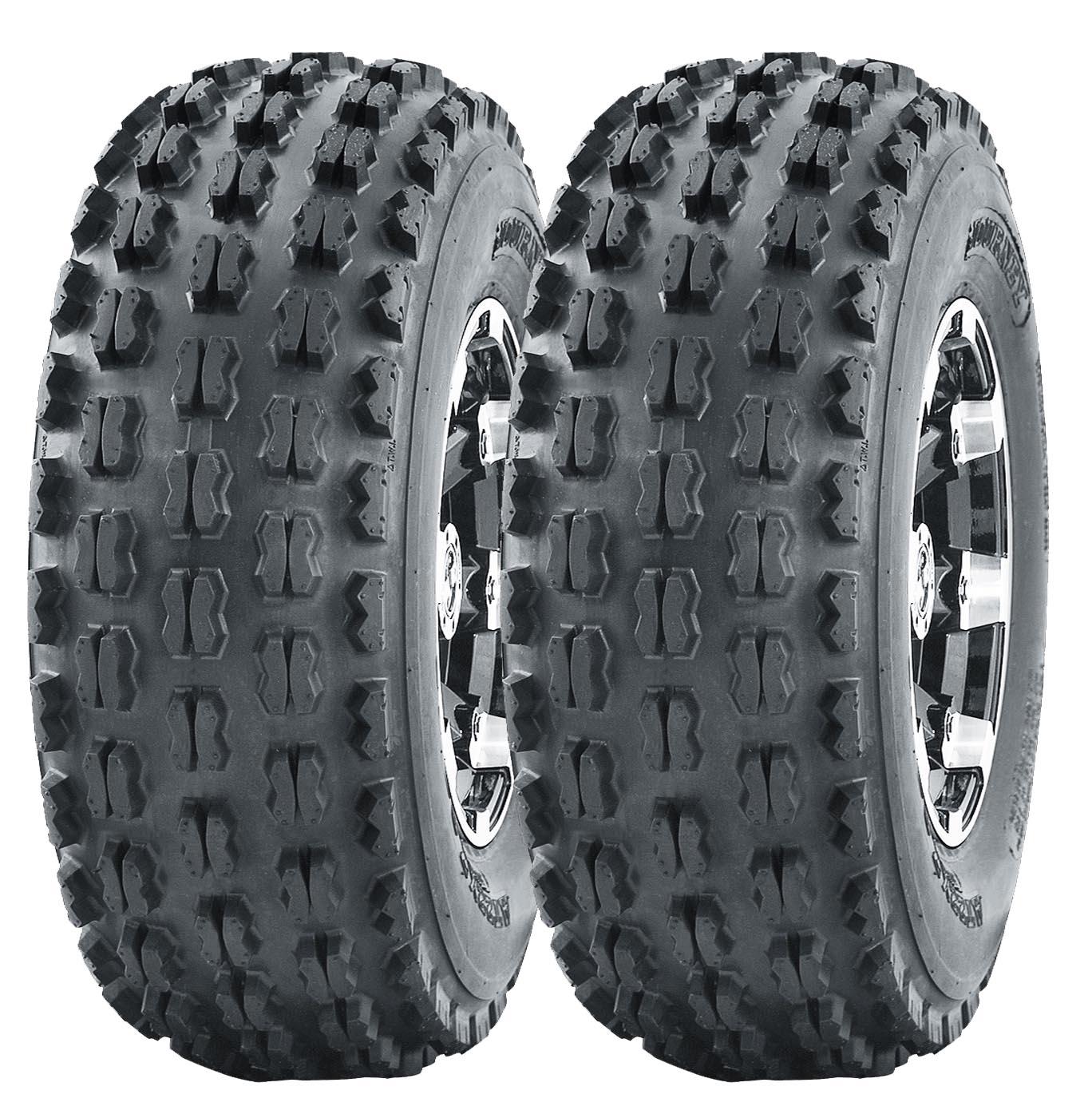 21x7-10 21x7x10 Suzuki Quadsport LT230 250 Z400 ATV Front Tire Set 6PR 2