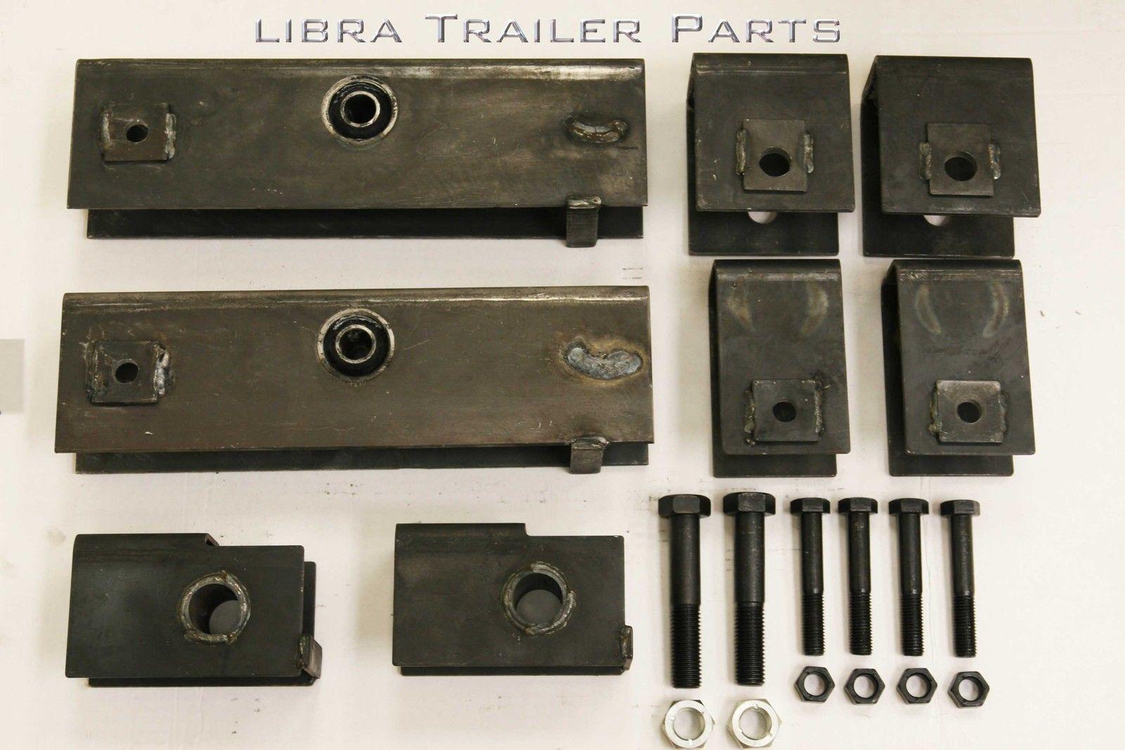Trailer hanger kit for quot slipper spring k lbs